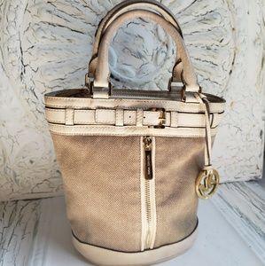 Retired Michael Kors Kingsbury bucket purse